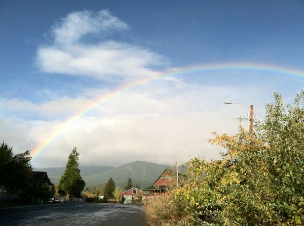 k-rainbow over shasta